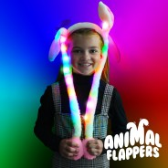 Light Up Animal Flappers - Ears 1