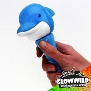 "Dolphin Mini Flashing Animal Wand 7"" Wholesale 8"