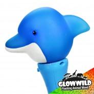 "Dolphin Mini Flashing Animal Wand 7"" Wholesale 9"