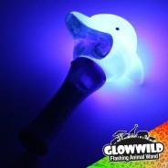 "Dolphin Mini Flashing Animal Wand 7"" Wholesale 4"