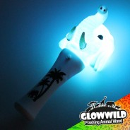 "Elephant Mini Flashing Animal Wand 7"" Wholesale  6"
