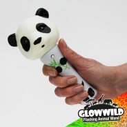 "Panda Mini Flashing Animal Wand 7"" Wholesale 12"