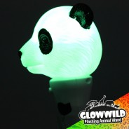 "Panda Mini Light Up Animal Wand 7"" 2"