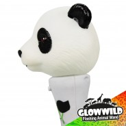 "Panda Mini Light Up Animal Wand 7"" 10"
