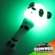 "Panda Mini Light Up Animal Wand 7"" 6"