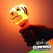 "Tiger Mini Flashing Animal Wand 7"" Wholesale 5"
