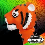 "Tiger Mini Flashing Animal Wand 7"" Wholesale 9"
