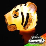 "Tiger Mini Flashing Animal Wand 7"" Wholesale 6"