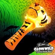 "Tiger Mini Flashing Animal Wand 7"" Wholesale 3"
