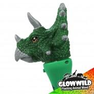 "Triceratops Mini Light Up Animal Wand 7"" 6"