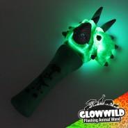"Triceratops Mini Light Up Animal Wand 7"" 4"