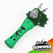 "Triceratops Mini Flashing Animal Wand 7"" Wholesale 6"