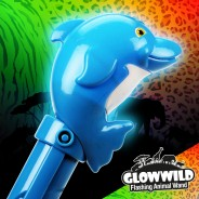 "Dolphin Mega Light Up Animal Wand 11"" 7"