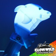 "Dolphin Mega Light Up Animal Wand 11"" 3"