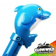 "Dolphin Mega Light Up Animal Wand 11"" 9"