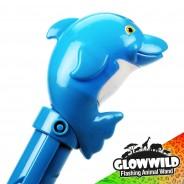 """Dolphin Mega Flashing Animal Wand 11"""" Wholesale 10"""