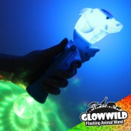 "Dolphin Mega Light Up Animal Wand 11"" 2"