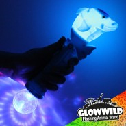"Dolphin Mega Light Up Animal Wand 11"" 8"