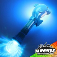 "Dolphin Mega Light Up Animal Wand 11"" 4"