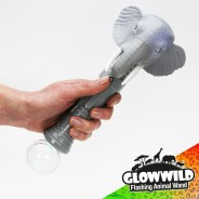 "Elephant Mega Flashing Animal Wand 11"" Wholesale 11"