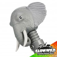 "Elephant Mega Flashing Animal Wand 11"" Wholesale 12"