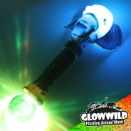 "Elephant Mega Flashing Animal Wand 11"" Wholesale 1"
