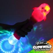 """Penguin Mega Light Up Animal Wand 11"""" 6"""