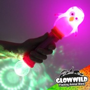 "Penguin Mega Flashing Animal Wand 11"" Wholesale 3"