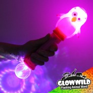 "Penguin Mega Flashing Animal Wand 11"" Wholesale 4"