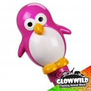 "Penguin Mega Flashing Animal Wand 11"" Wholesale 9"