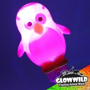 "Penguin Mega Flashing Animal Wand 11"" Wholesale 2"