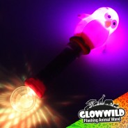 "Penguin Mega Flashing Animal Wand 11"" Wholesale 6"