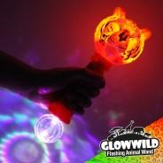 "Tiger Mega Light Up Animal Wand 11"" 4"