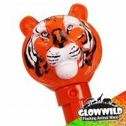 "Tiger Mega Flashing Animal Wand 11"" Wholesale 9"