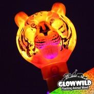 "Tiger Mega Light Up Animal Wand 11"" 5"