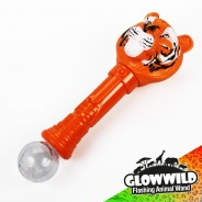 "Tiger Mega Flashing Animal Wand 11"" Wholesale 7"