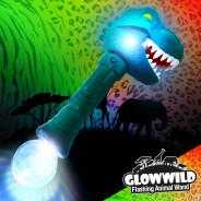 "T-Rex Mega Flashing Animal Wand 11"" Wholesale 1"