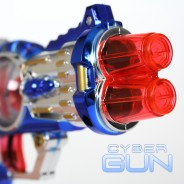 Light Up Cyber Gun 3