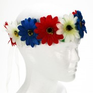Flower Halo 5 Red, blue and white Flower Halo