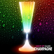 Light Up Champagne Glass Wholesale 1