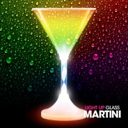 Light Up Martini Glass Wholesale 1