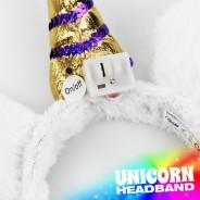 Flashing Unicorn Headband Wholesale 6