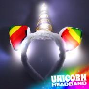 Flashing Unicorn Headband Wholesale 2