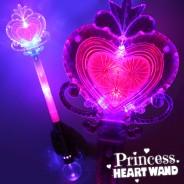 Large Light Up Princess Wand Wholesale 1 Pink