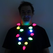Light Up Bulb Necklace 2