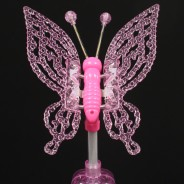 Light Up Butterfly Wand Large 6