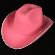 Light Up Pink Cowboy Hat 3