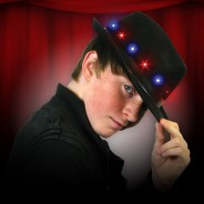 Light Up Fedora Hat 3