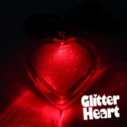 Flashing Glitter Heart Necklaces Wholesale 6