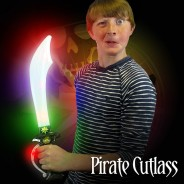 Light Up Pirate Cutlass Sword 1